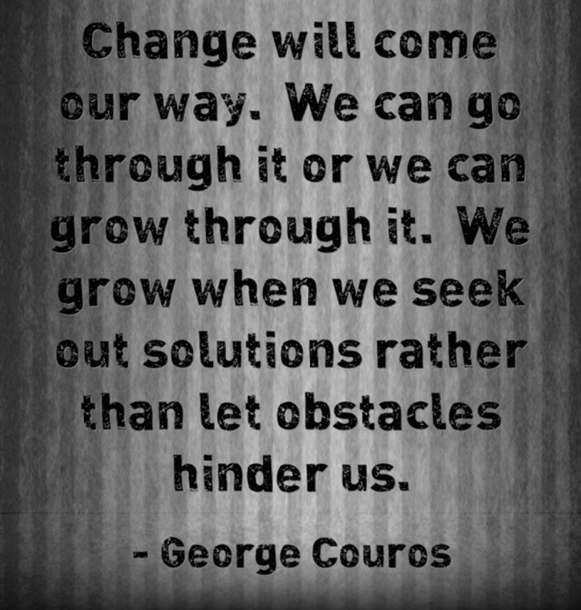 Change Will Happen